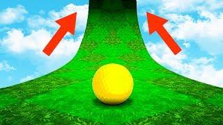 КУДА ВЕДЕТ ЭТА РАМПА??? САМЫЙ ХАРДКОРНЫЙ ГОЛЬФ С МЕГА 99% СЛОЖНЫМИ ЛУНКАМИ В ГОЛЬФ ИТ (Golf It)
