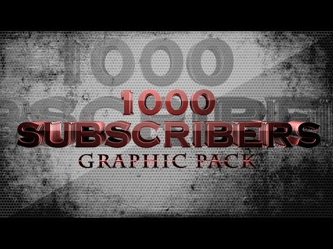 VIDEO: Youtube Channel Art Free GFX (professional templates)