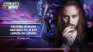 INTERVJU: Džoni Štulić - Politika je svuda oko nas i tu je sve lopuža do lopuže! (21.11.2018)