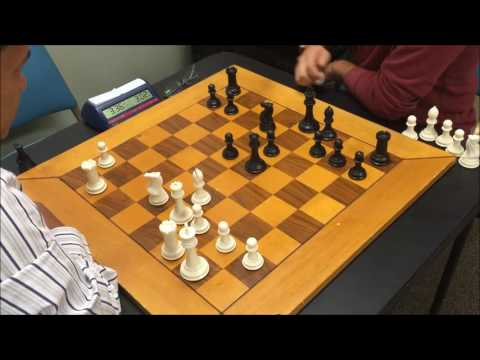 National Master Ruben vs. Class A Player Marlon