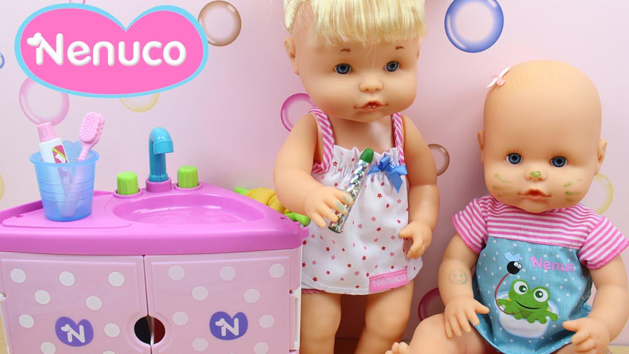 Set Juguetes De Baño Jane:Juguetes de Nenuco Hermanitos Traviesos