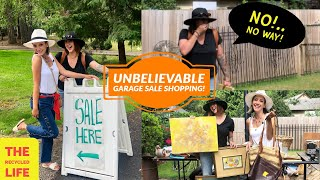Yard Sale Madness | Shop With us for Vintage | The Recycled Life