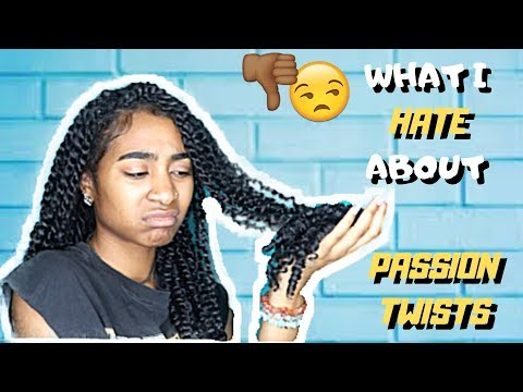 WHAT I HATE ABOUT PASSION TWISTS - 3 Week Update + How to Maintain