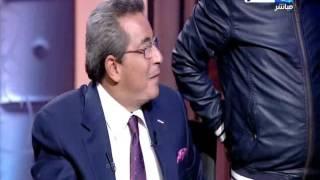 بالفيديو.. إعلاميو قناه النهار يودعون محمود سعد في آخر حلقاته