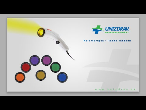Biolampa Medilight - kolorterapia / liečba svetlom - VIDEOMANUÁL