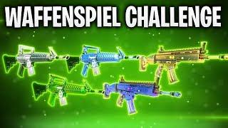 DIE WAFFENSPIEL CHALLENGE! 🔥 | Fortnite: Battle Royale