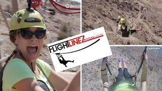What To Do in Las Vegas: Miles of Zip Lining!