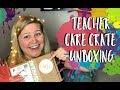 Teacher Care Crate Unboxing | Teacher Vlog | Self-Care