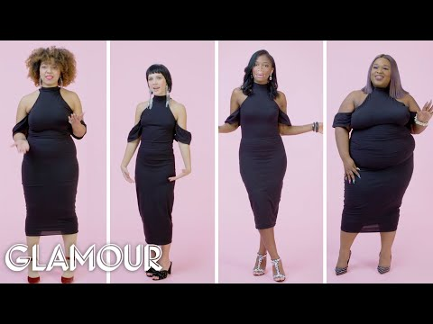 Women Sizes 0 To 28 On Wearing Tight Clothes | Glamour