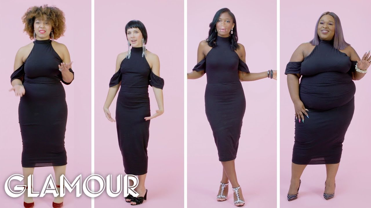 Women Sizes 0 to 28 on Wearing Tight Clothes   Glamour