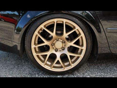 Vintage Gold Plasti Dip Wheels