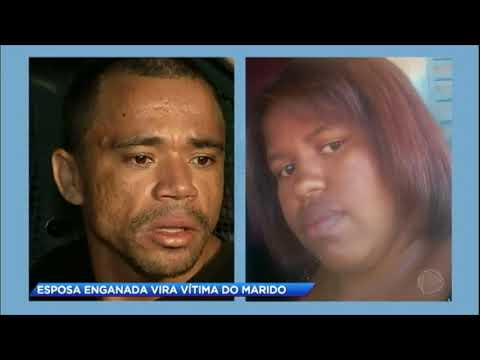 Marido ciumento mata a mulher a facadas na frente dos filhos