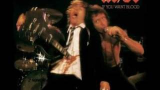 AC/DC - High Voltage / Live - If You Want Blood (You