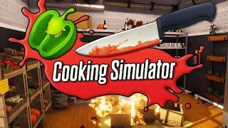 Łosoś Paluszki Lizać  Cooking Simulator #25