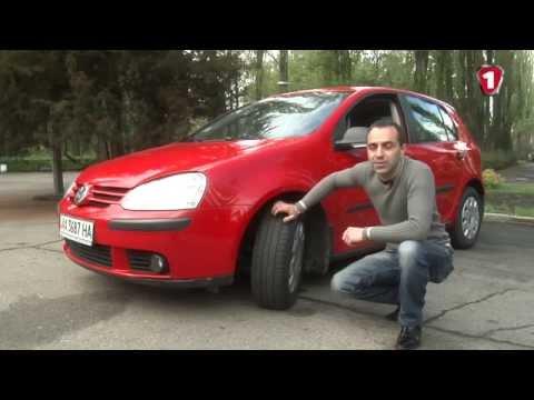 Фото к видео: Подержанный VW Golf 5 2004 г. (пятое поколение Фольксваген Гольф). АвтоцентрТВ №24.