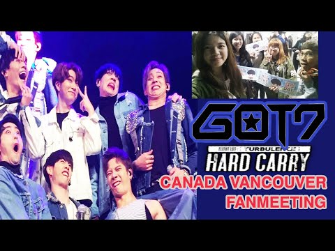 [GOT7's Hard Carry] 161111  Canada Fans Meeting - Vancouver 8pm Fancam