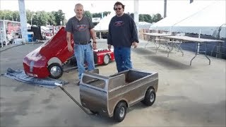 Steve and Tom From Pro Metal Shop Auction Off Their Econoline Pull Wagon For Speranza Animal Rescue