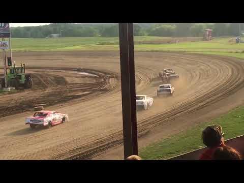 7W Racing Purestock Heat Race 8-3-18 Viking Speedway