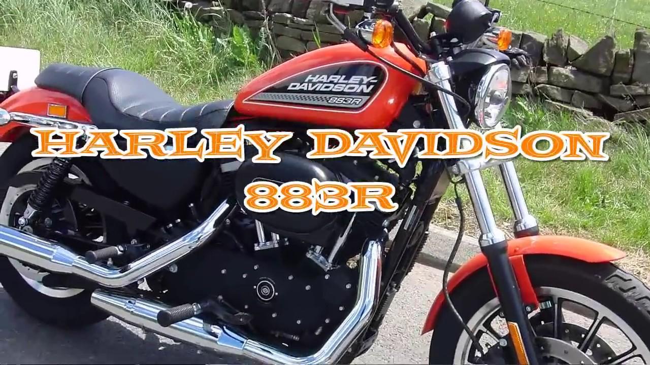 harley davidson 2010 sportster 883r ride - youtube