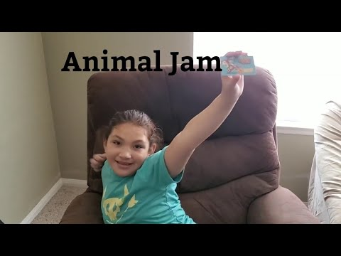Animal Jam Unbox Items Review With Secret Code Part 2