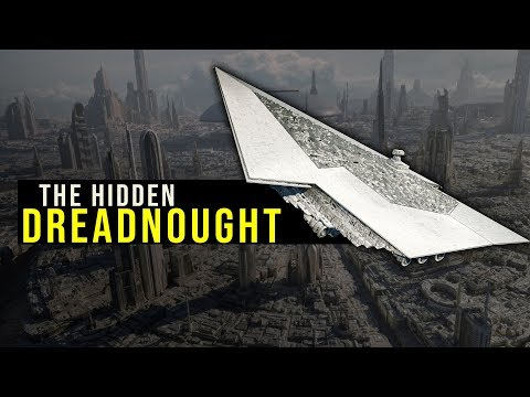 How Palpatine hid a SUPER STAR DESTROYER below Coruscant's Surface | Star Wars