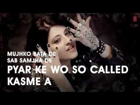 Lyrical    Swag Babe   Full Song With Lyrics   Mehak Malhotra Ft  Milind Gaba   YouTube