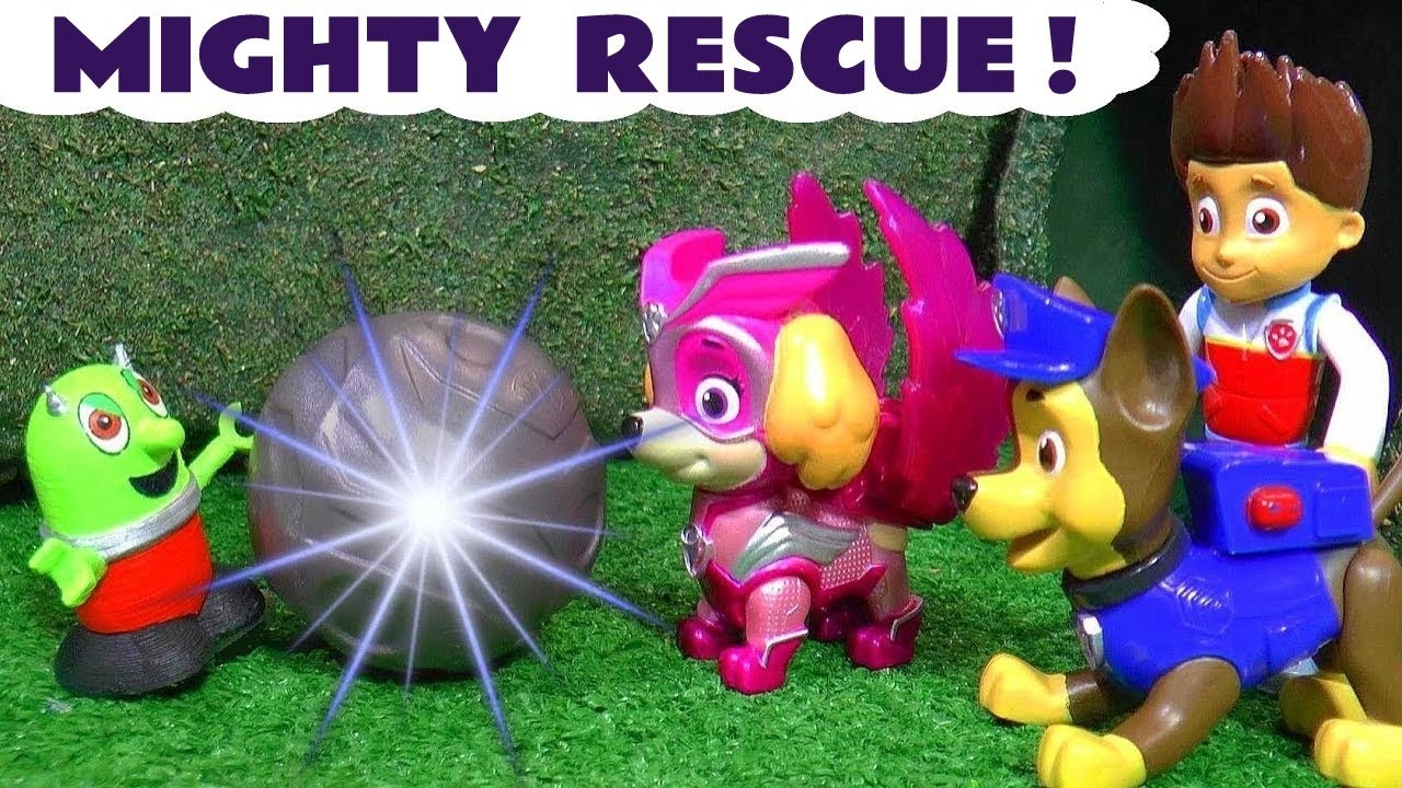 Mighty Pups Rescue after Rascal Funlings Prank with Paw Patrol Toys in this Full Episode
