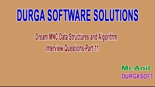 Dream MNC DS and Algorithm Interview Questions Part 11