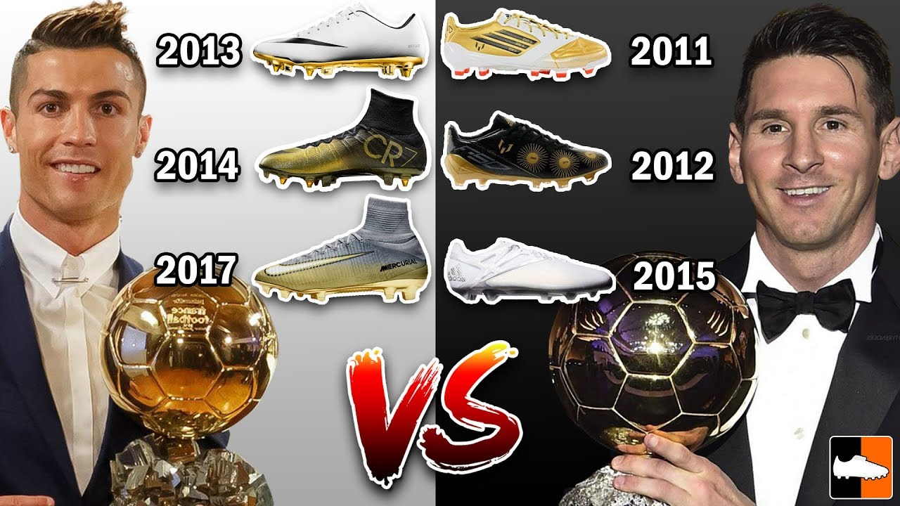 Vs Who Has The Best Ronaldo Ballon Boots D'or Messi hrCdtsQ