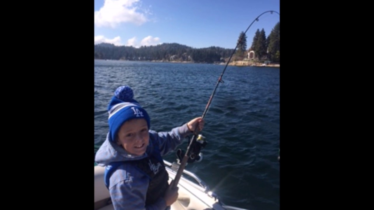 Lake arrowhead fishing 11 26 2016 youtube for Lake arrowhead fishing