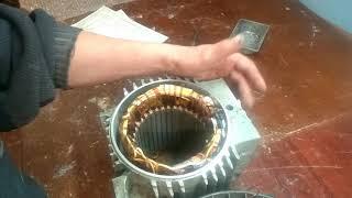 переделка асинхронного двигателя в генератор с максимально возможным согласованием под винт