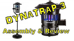 Dynatrap 3 Insect Trap Assembly and Review!