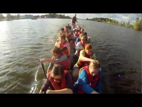 UW Oshkosh Dragonboat Practice
