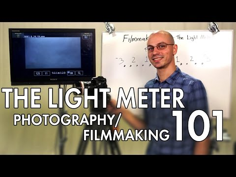 Light Meter Tutorial - Photography/Videography 101