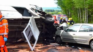 Groźny wypadek w Miedzianej Górze pod Kielcami