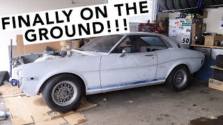 AE86 Coilover Suspension (Mostly) Installed! - RA24 Toyota Celica Project