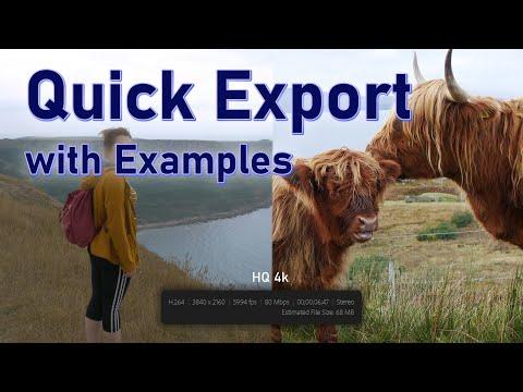 Quick Export In Adobe Premiere Pro