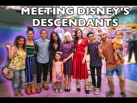 MEETING DISNEY DESCENDANTS 2 CAST!