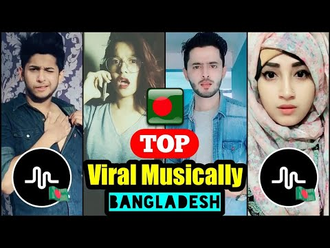 Top Musically video compilation | Afridi | Riddo | Prottoy | Purnima | | Musically Bangladesh