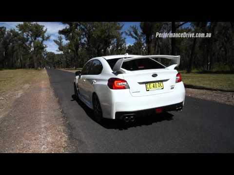 2016 Subaru WRX STI 0-100km/h & engine sound