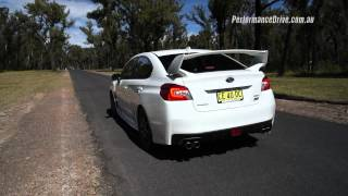 2016 Subaru WRX STI 0-100km/h & engine sound. Head over to http://p...