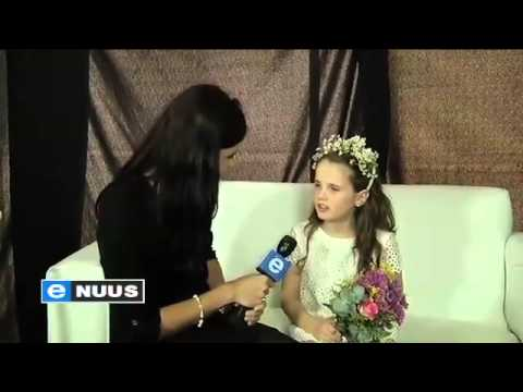 Amira Willighagen - South African TV / Opening Township Playground - 2014
