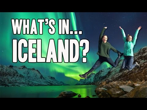 What's in Iceland?   Spring Break with Brooklyn and Bailey