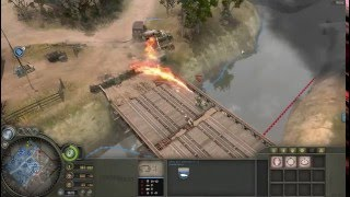 Company of Heroes - Axis (Wehrmacht) Terror Doctrine Gameplay VS Expert A.I.