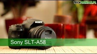 wideo test i recenzja aparatu sony sony slt a58   techmaniak pl