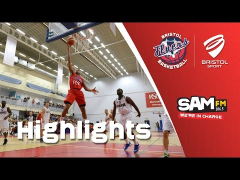 HIGHLIGHTS: Bristol Flyers 99-90 Manchester Giants