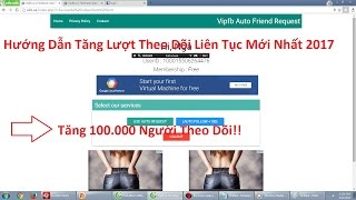 Hướng Dẫn Tăng 10.000  Người Theo Dõi ( Sub ) Facebook ✔ | how to hack follow no limit time
