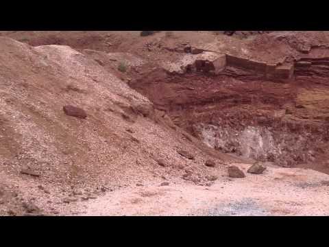 Rockhounding Selenite- Glitter Pits- Arizona Utah Border