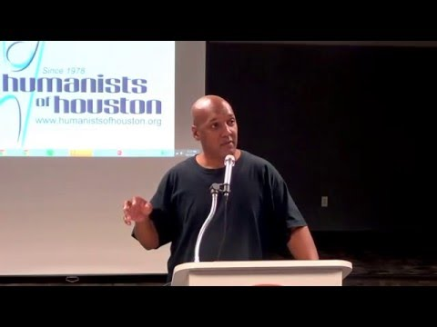 "Mark White of The Spin Doctors: ""Super Atheist"" @ Humanists of Houston October 2015"