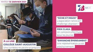 7/8 Culture. Emission du 12 janvier 2021